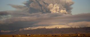 �Kode r�d� p� Island etter vulkanutbrudd