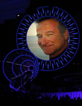 Slik ble Robin Williams hedret i natt