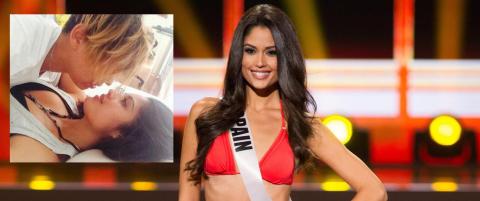 Miss Spania st�r fram som lesbisk: - Jeg angrer ikke