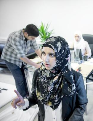 Faten Mahdi Al-Husseini (19) ble kalt et �skittent menneske� og �horeunge�