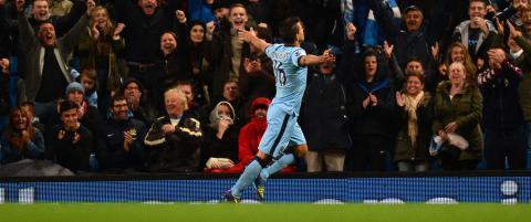 Sergio Aguero brukte 23 sekunder p� � senke Liverpool