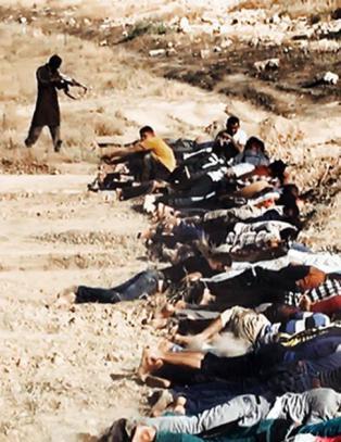 - � henrette folk p� denne m�ten er blant de klareste krigsforbrytelsene vi har