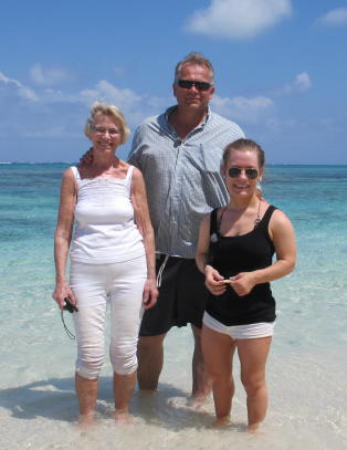 Sandra Borch m�tte sin biologiske far etter 24 �r