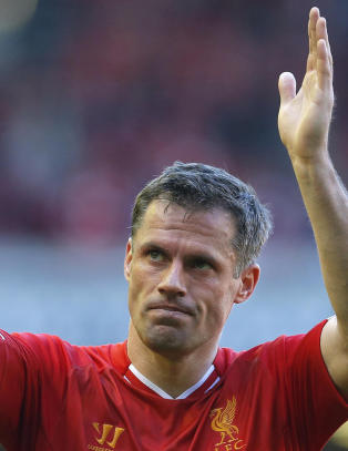 Carragher tror Liverpool skal slite med � n� topp fire