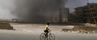Med USA og Russland p� Assads side g�r krigen i Syria inn i en ny fase