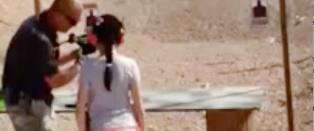 Instrukt�r d�de da jente (9) skj�t ham i hodet med maskinpistol