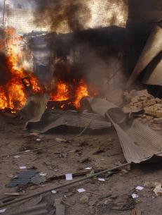 FN-rapport: Syria har trolig brukt klor i t�nnebomber