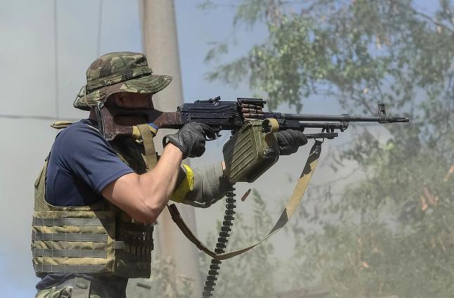 - Russiske soldater har g�tt inn i ukrainsk by