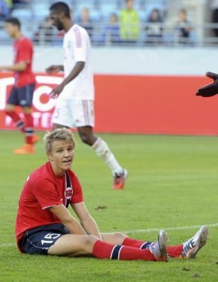 N� kan Martin (15) bli Norges h�p mot England og Italia: - Utrolig stort � f� oppfylt dr�mmen