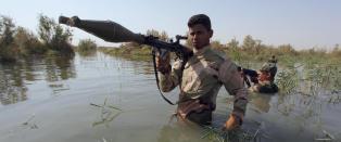 Flere tusen irakiske soldater er klare til � angripe IS
