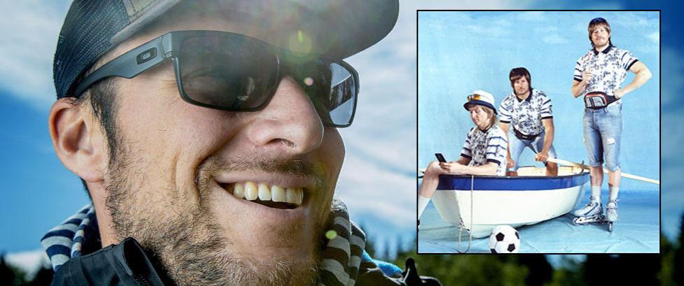 Lund Svindal visste ikke om reklamefilmen f�r han �kom hjem og skrudde p� TV-en�
