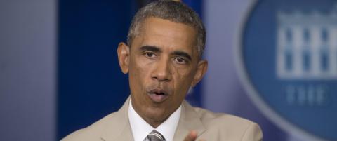 Obama: - Ingen konkrete planer om Syria-angrep