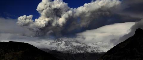 Avinor f�lger vulkanutbruddet tett
