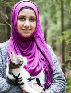 Faten - den �frekke�, muslimske oppr�reren