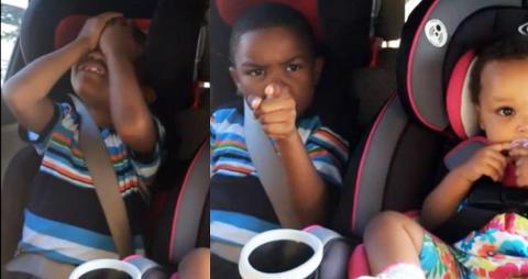 Mamma forventet neppe denne reaksjonen da hun fortalte s�nnen (6) at han skal bli storebror igjen