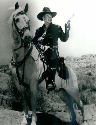 En cowboy letter på hatten