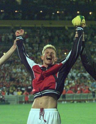 Brasil-skalpen st�rste norske sports�yeblikk