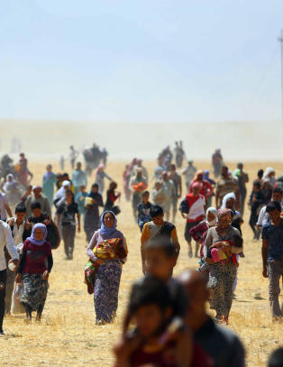- Alle flyktningene snakker om massakre og kidnappinger