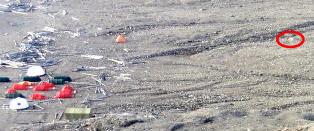 Studenter m�tte r�mme leir etter isbj�rnangrep p� Svalbard