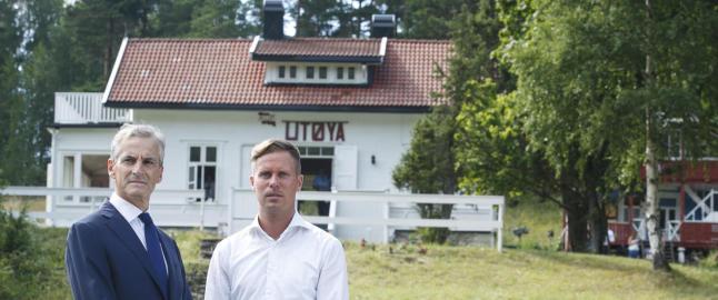 Kommunen stanser ikke Ut�ya-utbygging