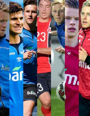�n av disse blir Norges nye landslagskaptein i dag