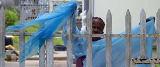 Sykepleiere streiker i ebolarammede Liberia