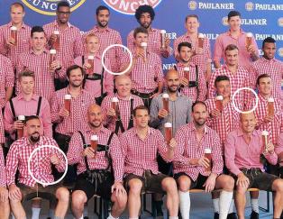 Etter skandalen i fjor rettet Bayern-stjernene p� dette