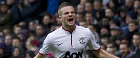 Uniteds Cleverley leies ut til Aston Villa