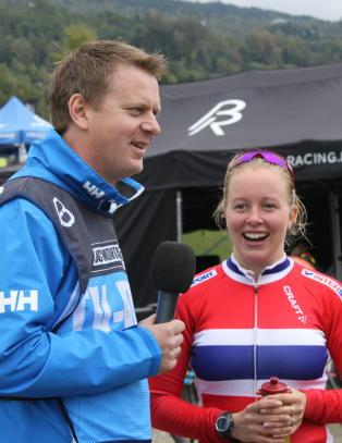 Norsk VM-medalje i terrengsykling