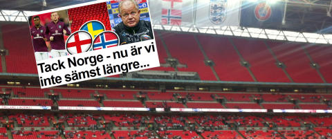 Slik s� det ut p� Wembley like f�r avspark