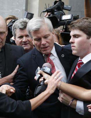 Fallert republikansk stjerne hulket da han ble d�mt for korrupsjon