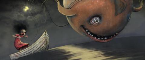 Ny bok fra en av Norges mest interessante bildebokkunstnere