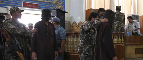 Sju d�mt til d�den for gjengvoldtekt i Afghanistan