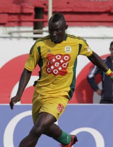 Den kamerunske landslagsspilleren ble drept av en skarp takstein