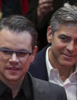 - Jeg er misunnelig på George Clooney