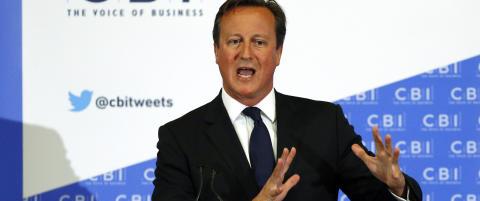 Cameron til Skottland for � redde unionen