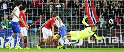 Sjansel�se Norge sist i gruppa etter hjemmenedtur mot Italia