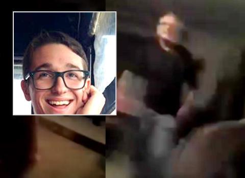 Her blir Daniel (20) sl�tt og kastet ut hjemmefra fordi han er homofil