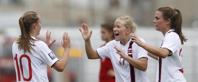 Norge klare for VM etter � ha sl�tt Albania 11-0 (!)