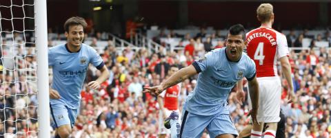 City knabbet poeng fra Arsenal p� hjemmebane