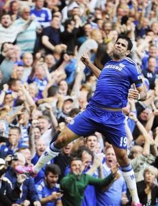 Costa-show da Chelsea slo Swansea