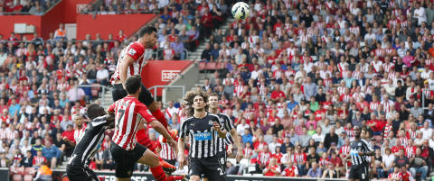 Newcastle ydmyket av Southampton