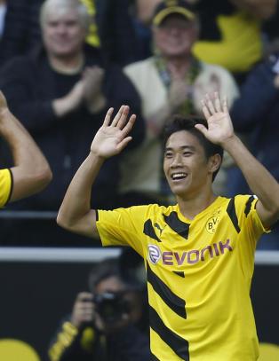 Kagawa glitret i Dortmund-comebacket