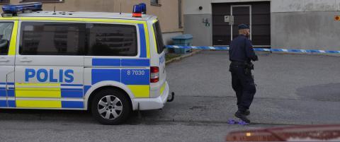 To personer skutt og drept ved garasjeanlegg i Stockholm