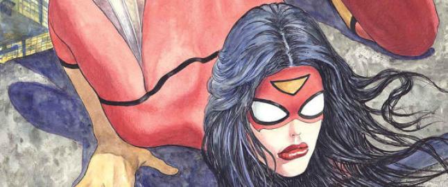 En knulledukke ved navn Spider Woman
