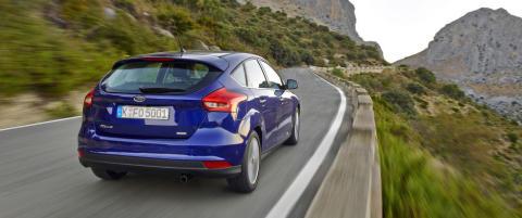 Ford Focus blir ny og billigere