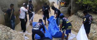 Tre personer mistenkt for drap p� briter i Thailand