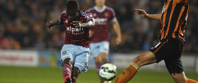 Nyervervelsene herjet da Hull og West Ham b�d p� festfotball