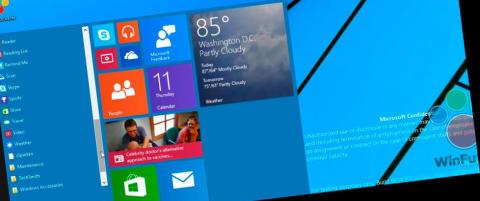 Se hva som kommer tilbake i Windows 9