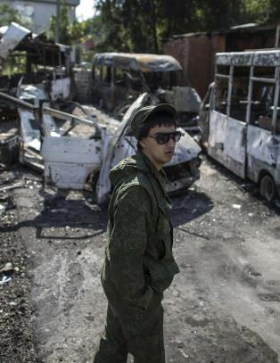Ukraina gir etter og tilbyr oppr�rerne �fryst konflikt�